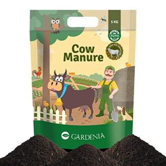 Ugaoo Cow Manure 5 Kg - Organic Fertilizer for Home and Garden Plants by UGAOO