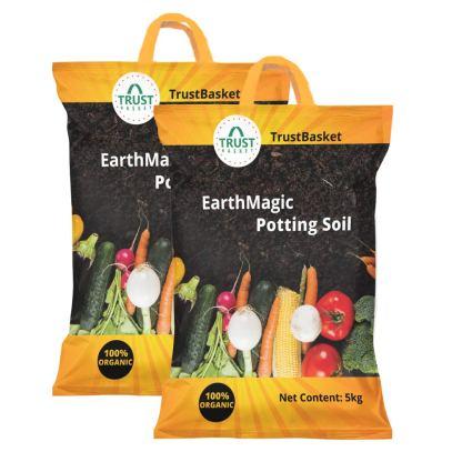 Trustbusket enriched premium organic earth soil