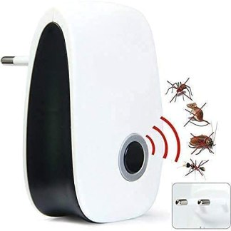 LUCHILA Latest Ultrasonic Pest Repellent Machine to Repel Lizard, Rats, Cockroach, Mosquito, Home Pest & Rodent Repelling Aid for Reject Ants Spider Insect Pest Control Electric Pest Repelling