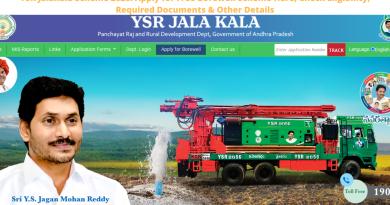 YSR Jalakala Scheme 2020_ Apply for Free Borewell Scheme Here