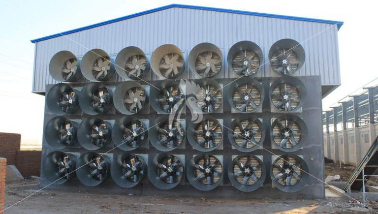 how does exhaust fan and cooling pad