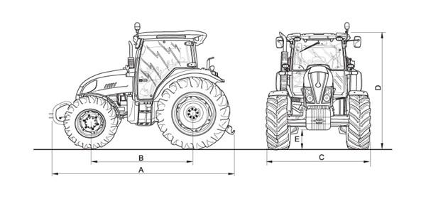 Landini Powermondial-120 Top from Farming UK