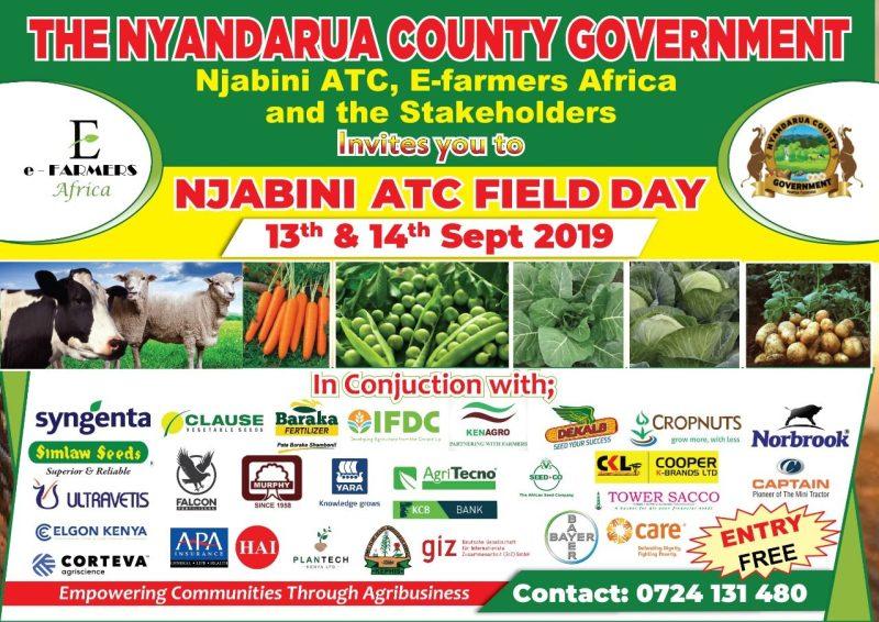 Njabini ATC farmer fieldday 2019