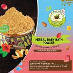 HERBAL BABY BATH POWDER (FOR BABIES & MEN)