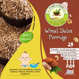 WHEAT DATES NUTS PORRIDGE MIX(7 Months+)