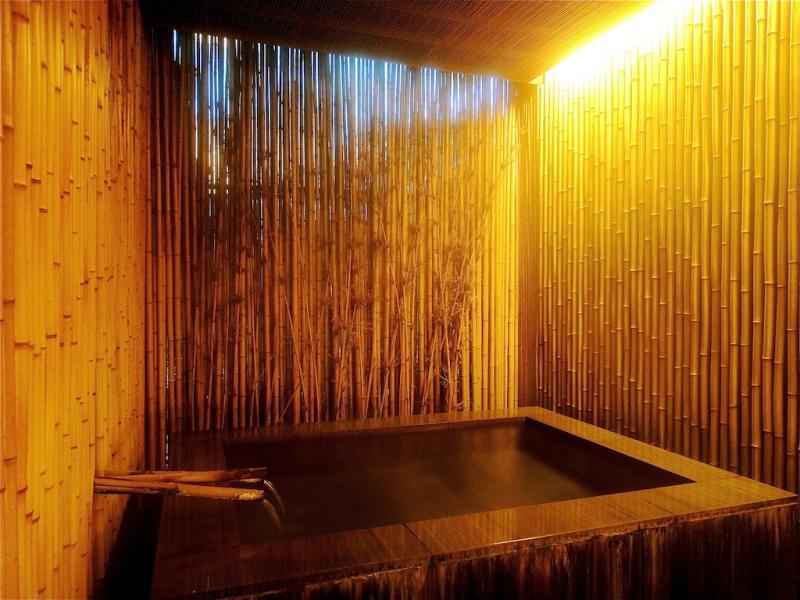 naked bath