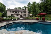 Sparta New Jersey Pool Landscaping Backyard Project ...