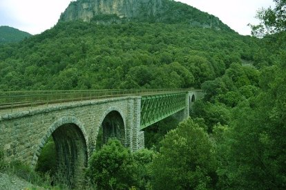 View of Sardinian countryside, Italy.