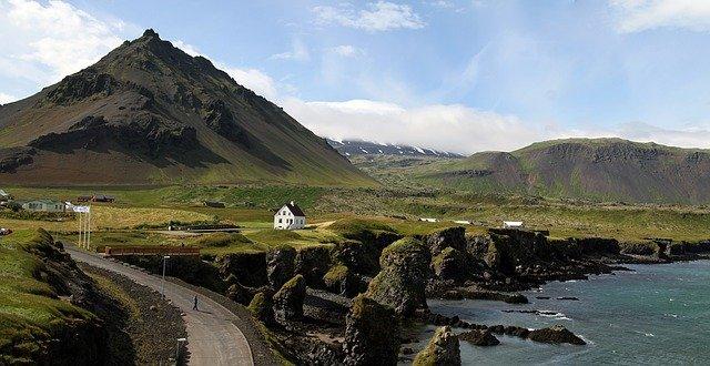 Icelandic fishing village, Snæfellsnes Peninsula