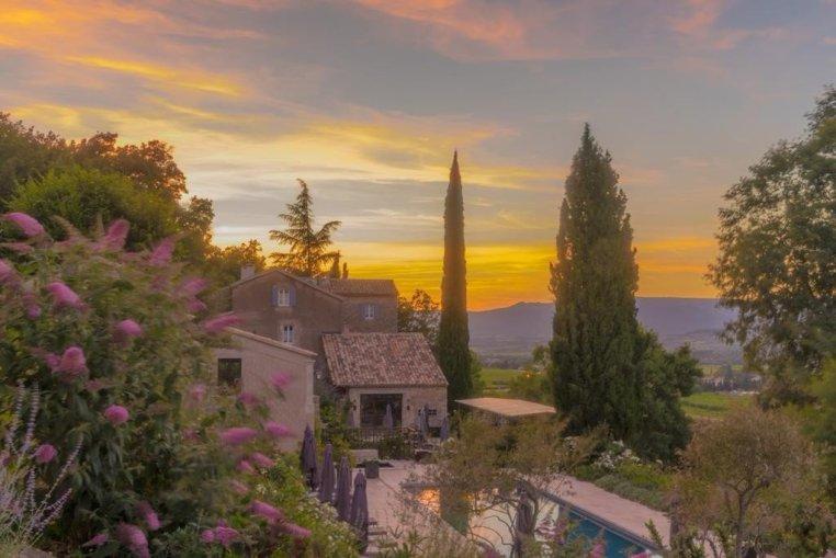 Luxury Rural Hotel in Luberon, Provence: La Bastide du Tinal