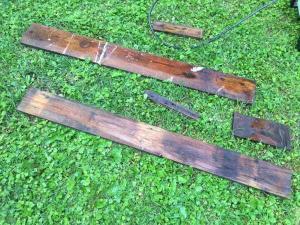Reclaimed Wood Barn Shutter