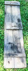 Reclaimed Wood Barn Shutter