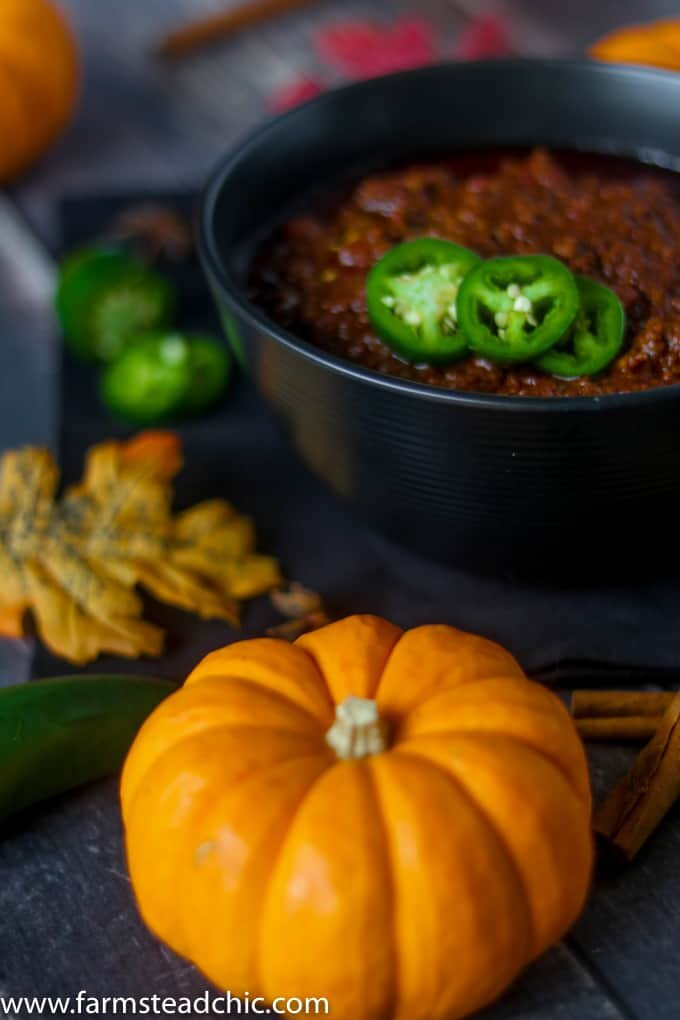 What better way to usher in fall than with this Paleo & Whole30 Spiced Pumpkin Chili? Healthy, simple, and delicious, it'll be a hit for the whole family!