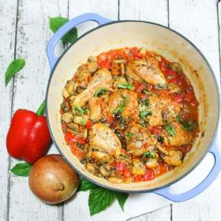 Paleo & Whole30 Chicken Cacciatore