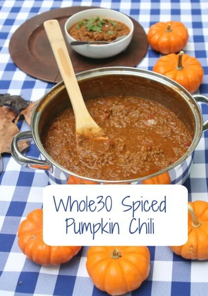 Whole30 Spiced Pumpkin Chili