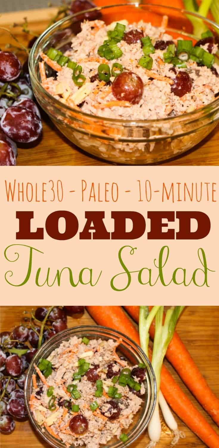 Whole30 Loaded Tuna Salad