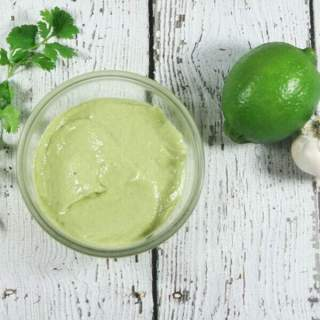 Paleo & Whole30 Avocado Lime Sauce