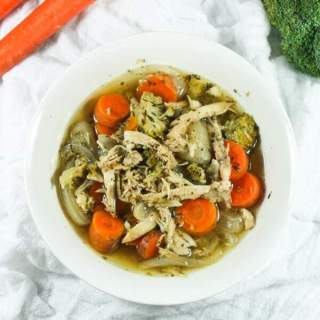 Easy 6-Ingredient Paleo & Whole30 Chicken Stew