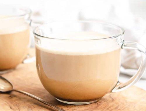Paleo & Whole30 Cinnamon Vanilla Latte - Low Carb, Keto Latte
