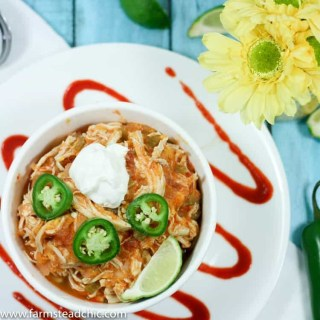 Instant Pot Buffalo Chicken Chili, Paleo + Whole30