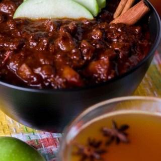 Paleo and Whole30 Apple Cider Chili