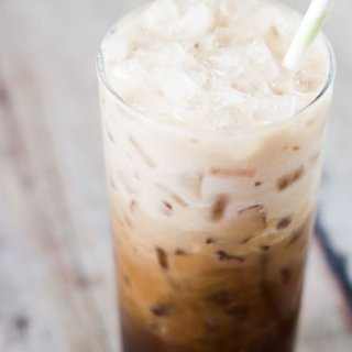 This Paleo and Whole30 Iced Coffee will get your morning started with a bang. Collagen peptides and MCT oil provide the protein and healthy fats your body needs to get going. Low carb and Keto-friendly.