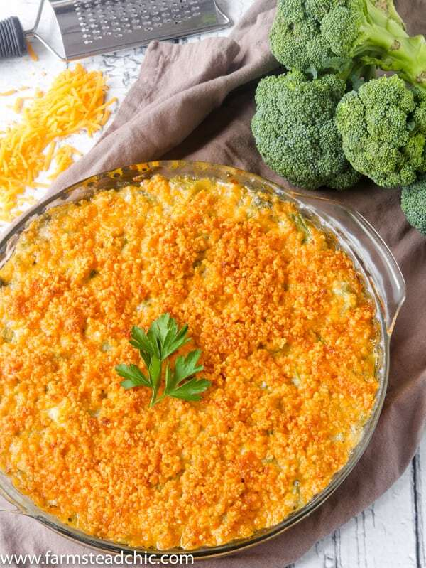 Low Carb, Keto Broccoli Casserole