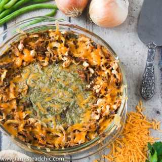 Low Carb, Keto Green Bean Casserole