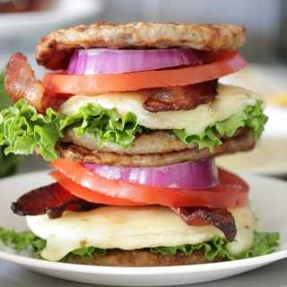 Low Carb, Keto Breakfast Sandwiches – Meal Prep