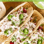 Instant Pot Cranberry Chipotle Chicken Tacos - Low Carb, Keto Tacos