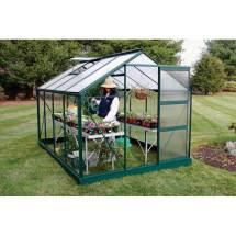 "Growspan Estate Hobby Small Greenhouse - 7'2"" X 6'3"" 9"