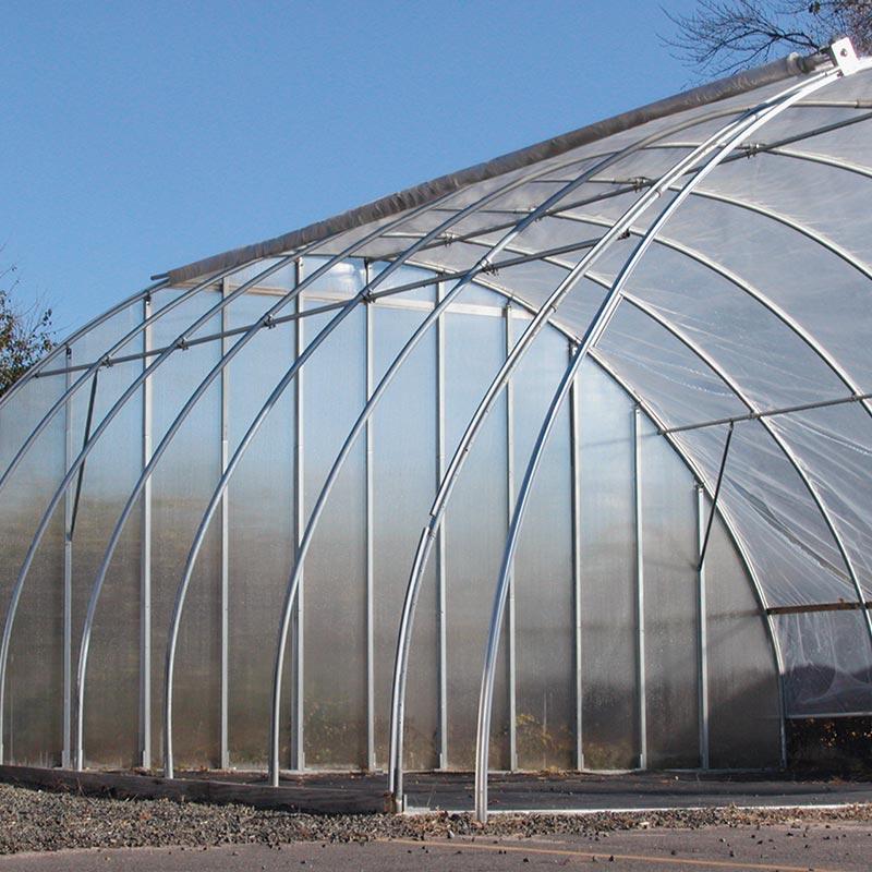GrowSpan Round Premium Vent High Tunnels  26 x 12 x 48