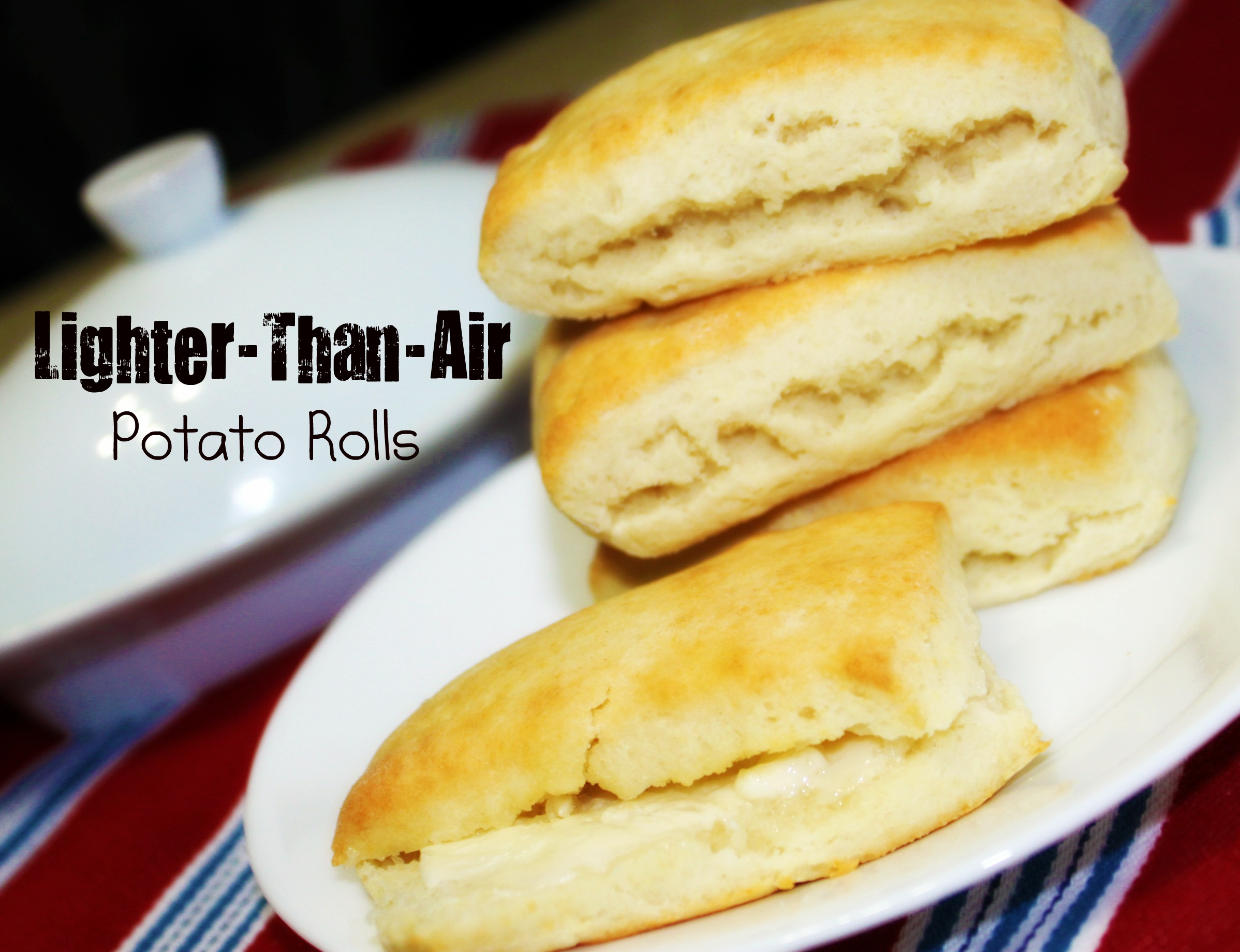 Lighter Than Air Potato Rolls