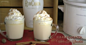 Crock Pot RumChata White Hot Chocolate recipe is one of the most decadent drink recipes I have ever experienced. It was rich and luscious to drink. Great for warming up on chilly winter nights.