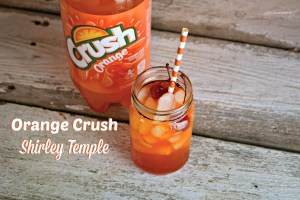 Orange Crush Shirley Temple is a great kid drink, sure to be a hit at any occasion.