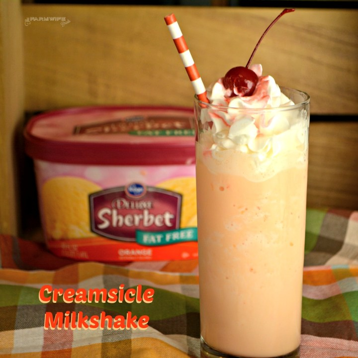 Orange creamsicle milkshakes are a refreshing and flavorful treat that reminds me of the orange push-ups we would eat all summer long as kids.