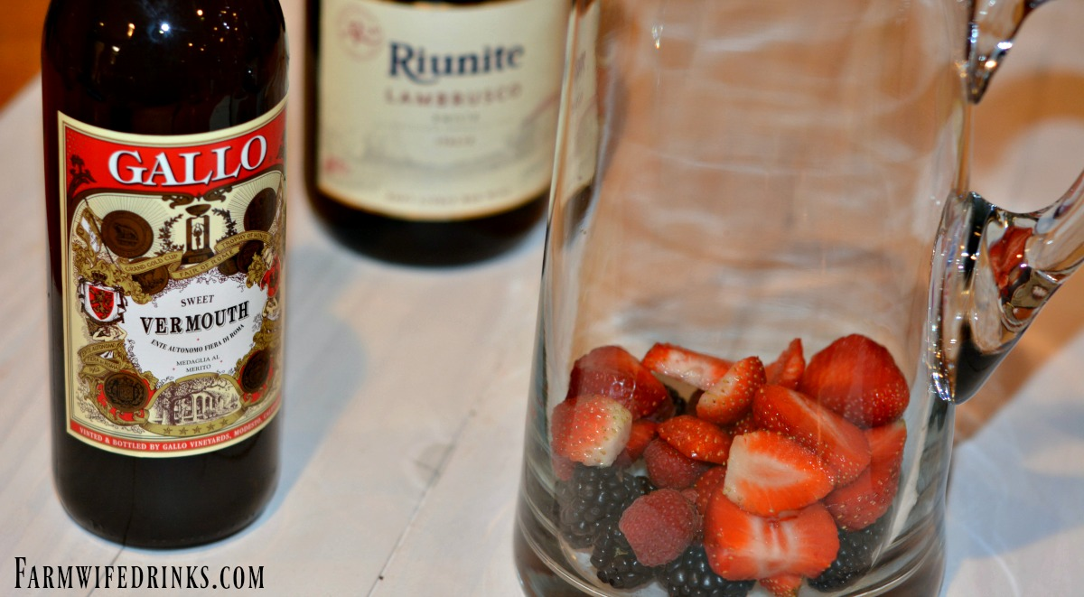 Olive Garden Berry Sangria The Farmwife Drinks