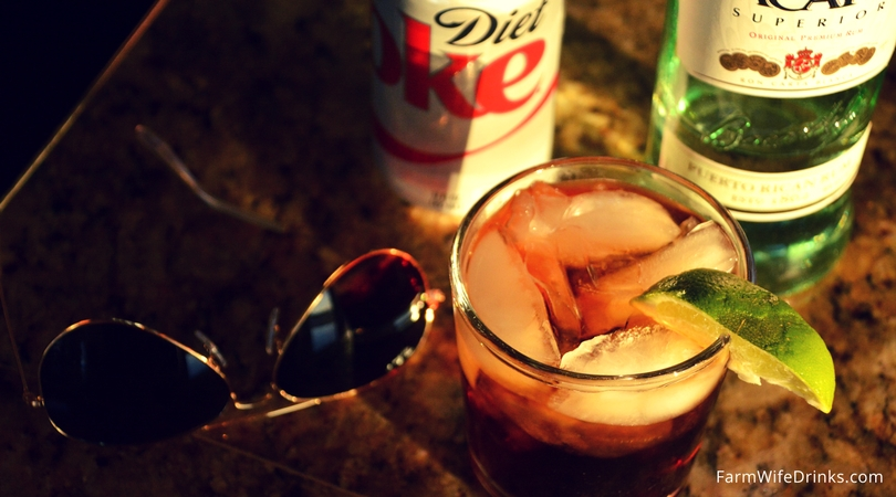 Bacardi Rum and Diet Coke is great low-carb cocktail that won't break your diet. Go ahead and grab a glass and pour yourself a cocktail.