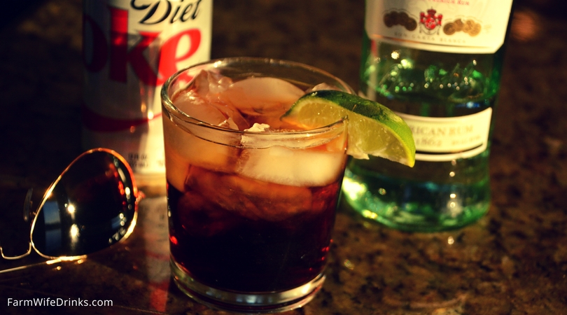 is bacardi and diet coke fattening