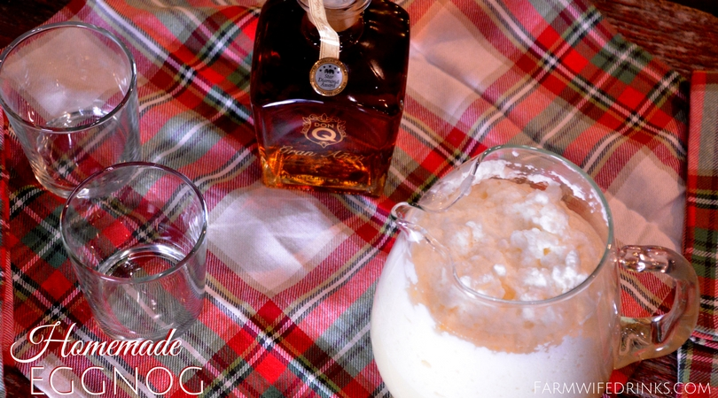 If you love eggnog and want to make a special homemade version, this homemade eggnog recipe is decadent and pairs perfectly with Don Q Gran Anejo Rum.