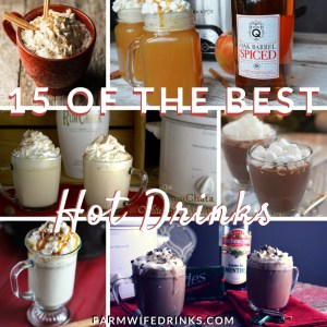 This time of year nothing beats a hot drink to sip on to keep you warm. People are always asking for ideas. Here is a list of my favorite 15 hot drinks made in the crock pot or on the stove.
