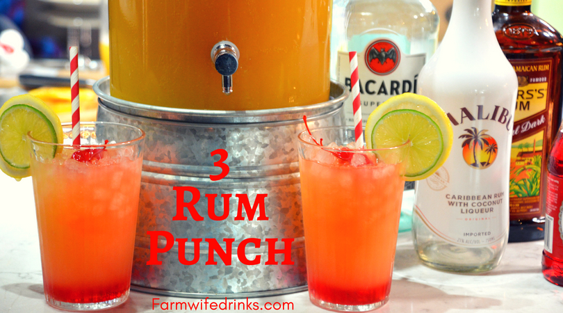 3 Rum Punch The Farmwife Drinks