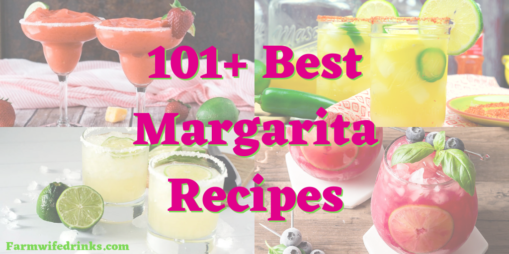 101+ Best Margaritas - Whether it be Cinco de Mayo or Taco Tuesday or Friday night, margaritas are always must have. In this list of the best margaritas from around the web, you will find a margarita for everyone, even the kids and non-drinkers! #Margaritas #Cincodemayo