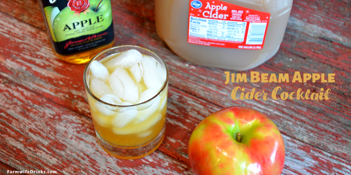 Jim Beam Apple Cider Cocktail is a simple concoction of Jim Beam Apple and apple cider over ice but will be just served with warm apple cider.