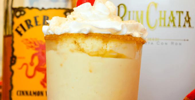 Cinnamon Toast Crunch Milkshake – Fireball Rumchata Frozen Cocktail