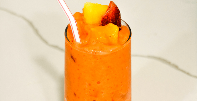 Tropical Smoothie Sunrise Sunset Smoothie Copycat Recipe