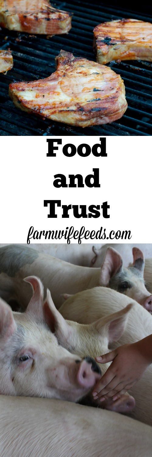 Food and Trust Pinterest