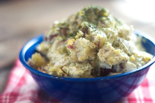 Dill Potato Salad - super simple & everyone will want the recipe