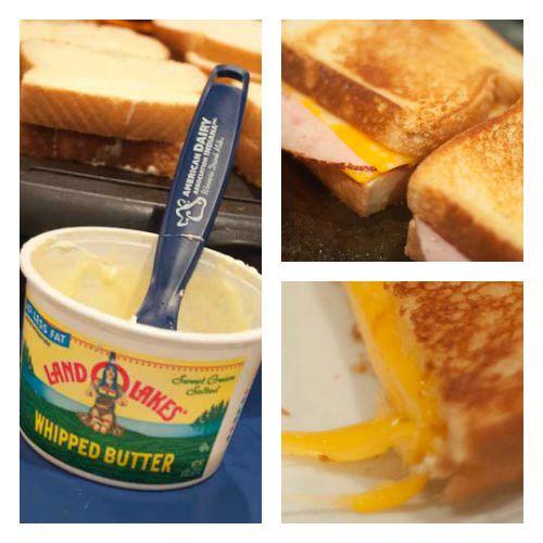 Grilled Cheese & Milkshakes-super easy kid friendly protein packed meal