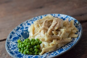 Crockpot Chicken and Noodles-super simple and loved by all!